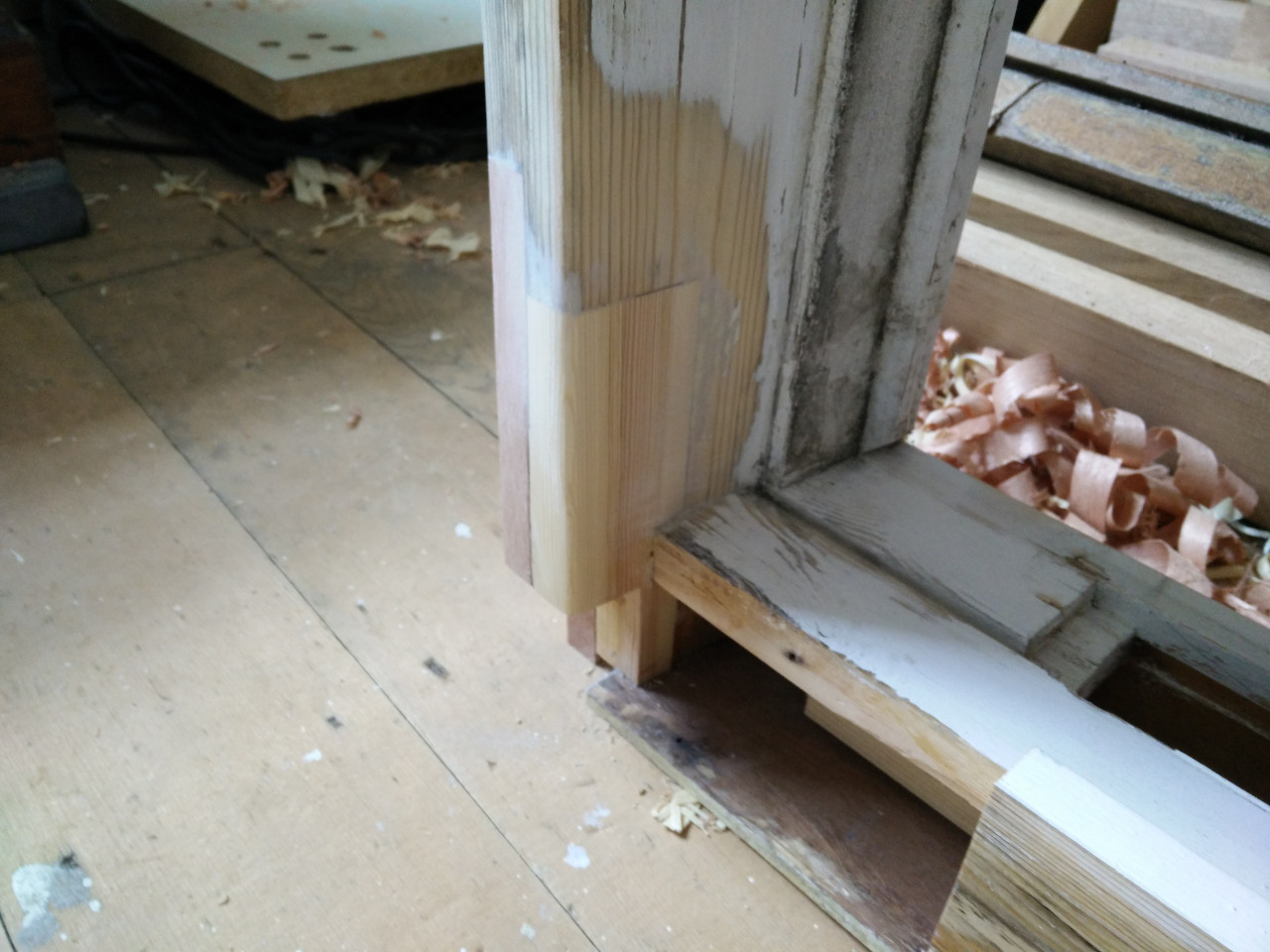 Repairing a window sill part 5 for Window sill replacement