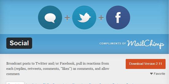 WP Social
