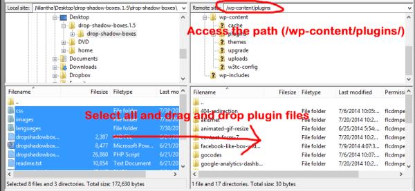 plugin upload ftp