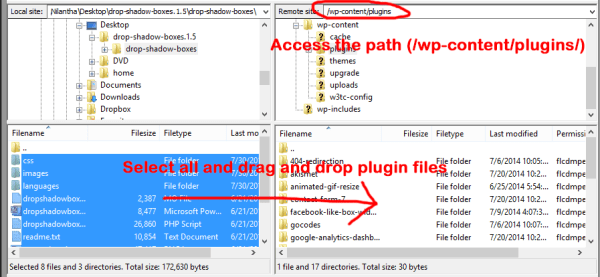 plugin upload ftp
