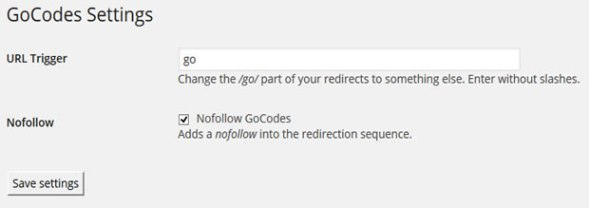 add nofollow to affiliate links