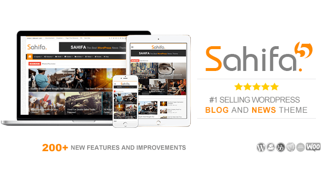Sahifa Responsive WordPress Theme Featured Image