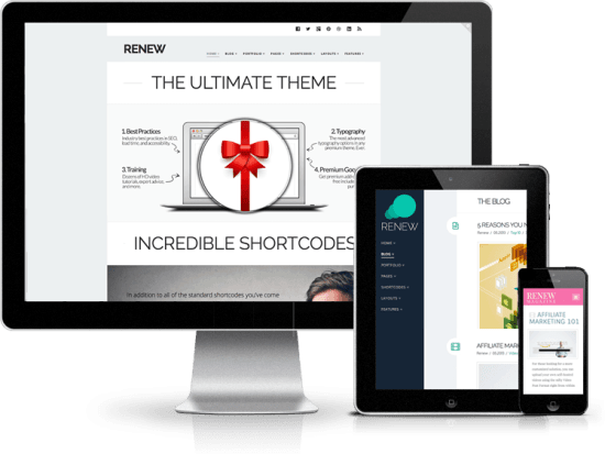 X The Ultimate WordPress Theme renew