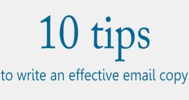 10 Tips For Writing Effective Email Copy