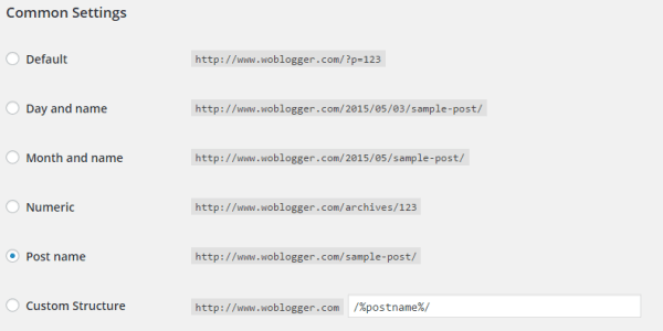 Basic SEO for WordPress Blogs - Permalinks