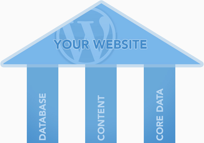 structure of a website content