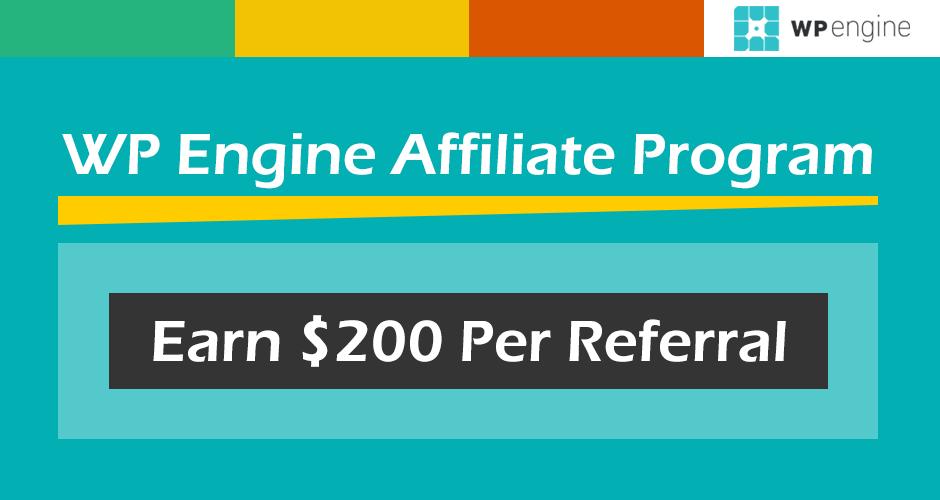 WP Engine Affiliate Program Featured Image