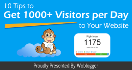 10 Tips to Get 1000+ Visitors per Day to Your Website