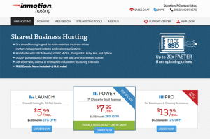 InMotion Shared Hosting