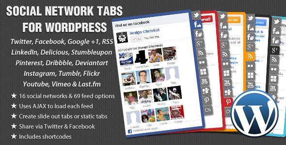20 Best Social Media Plugins For WordPress Social Network Tabs
