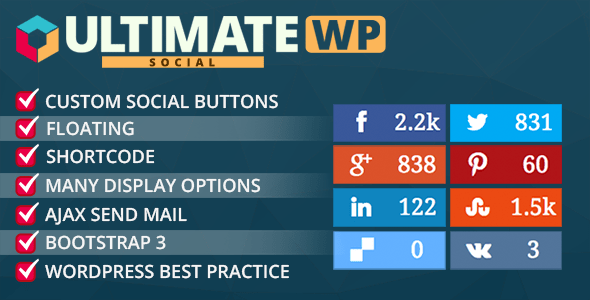 20 Best Social Media Plugins For WordPress Ultimate Social Deux