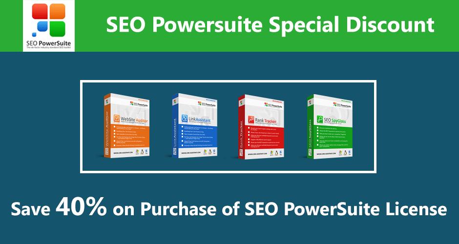 SEO PowerSuite Discount 2018