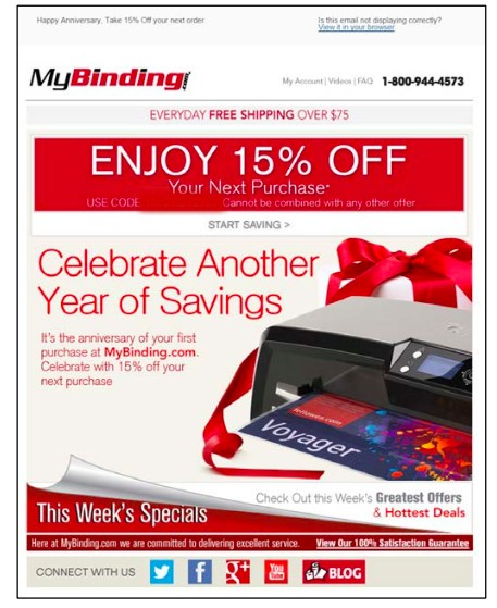 Email Greetings Mybinding