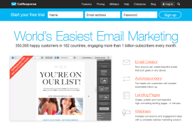 Email List Getresponse Try
