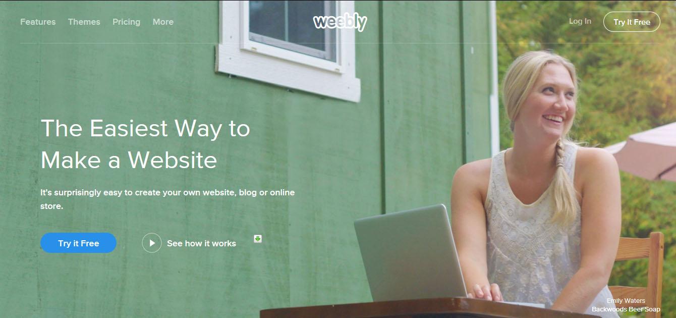 Top 5 Best Website Builders Weebly