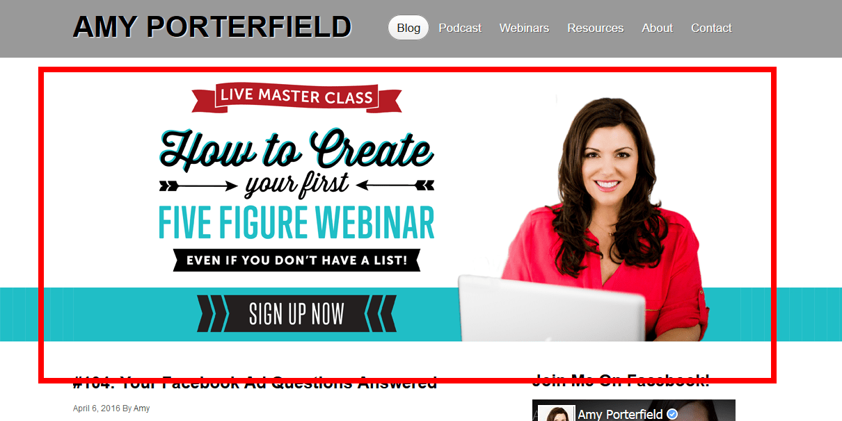 Amy Porterfield Optin Feature Box