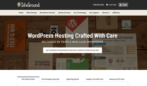 Siteground Best Managed WordPress Hosting