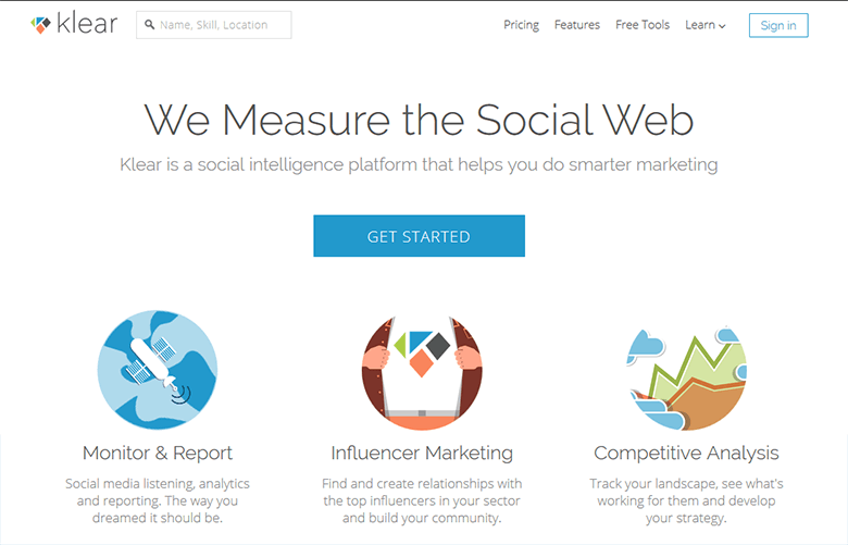 Klear Analyse the Social Activities of Your Competitors