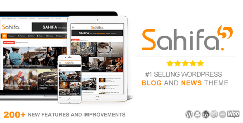 Sahifa Best AdSense WordPress Themes for Earning More