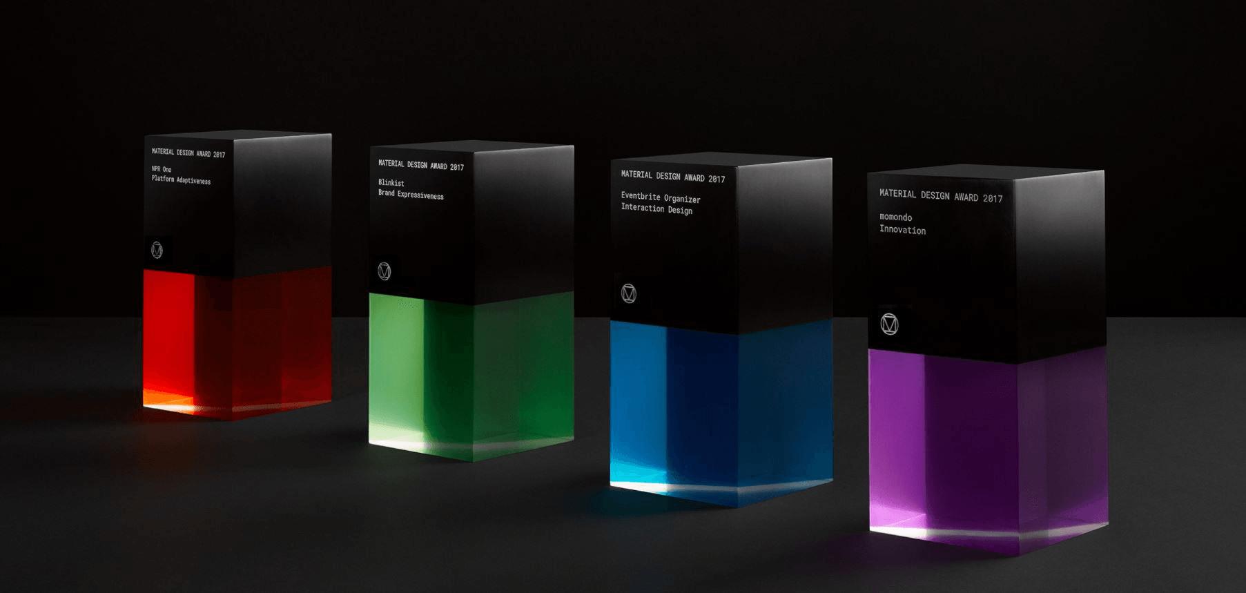 Google Design's Material Design Awards 2017