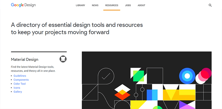 Google Material Design Resources
