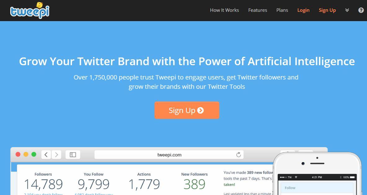 Tweepi Twitter Management Tool