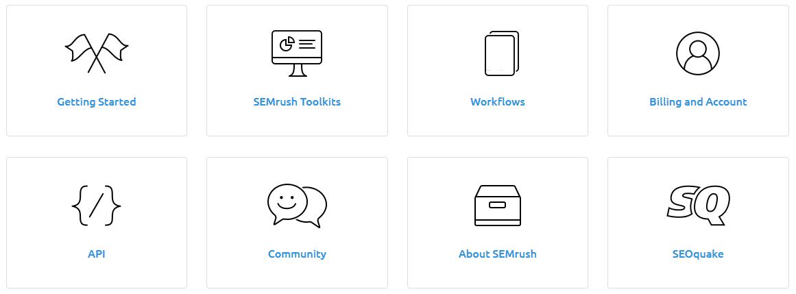 semrush review tutorials knowledgebase