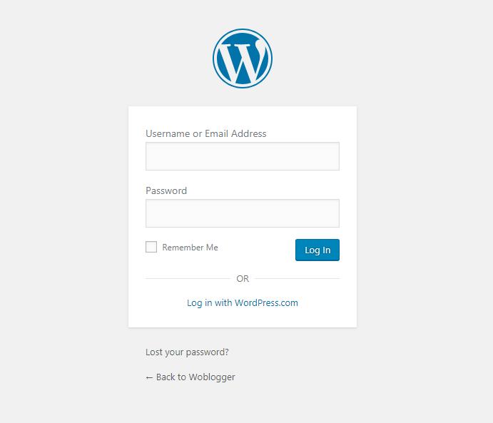 16. admin URL