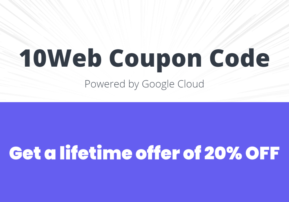 10web coupon promo code managed wordpress hosting