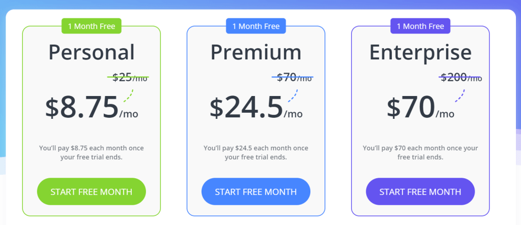 10web promo code monthly plans