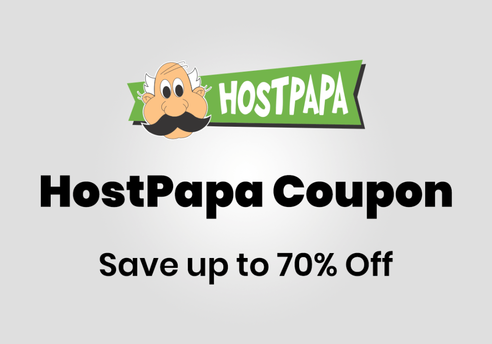 HostPapa coupon code promo code discount