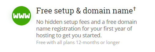 HostPapa free domain name registration