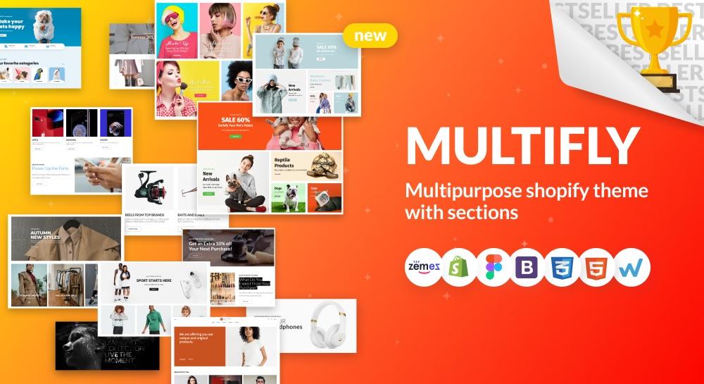 Multifly shopify theme