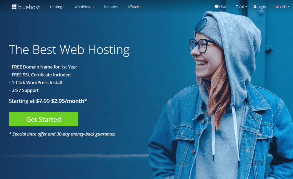 Bluehost discounted price