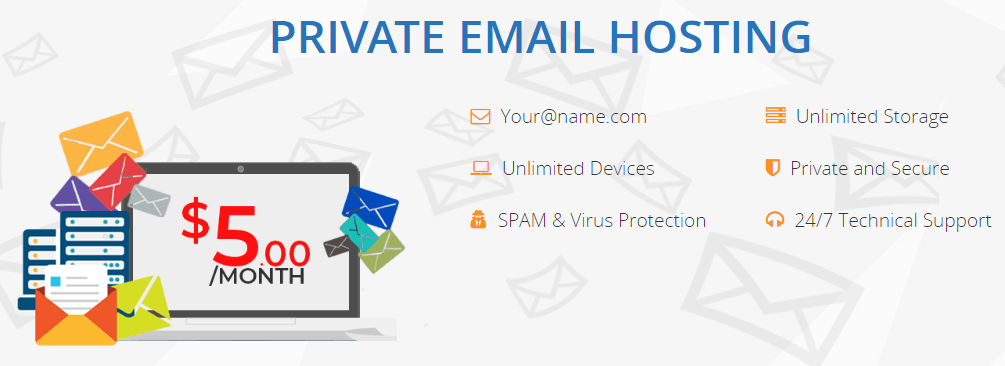private email hosting interserver