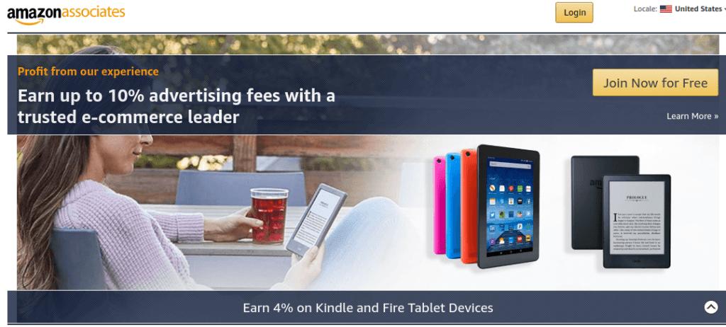 affiliate marketing amazon associates