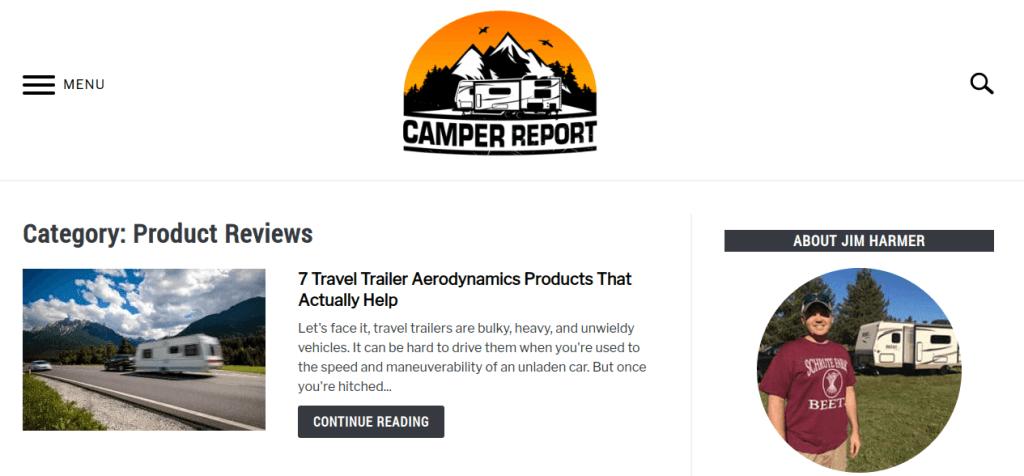 camper report