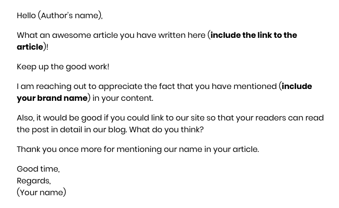 claim your brand mention email
