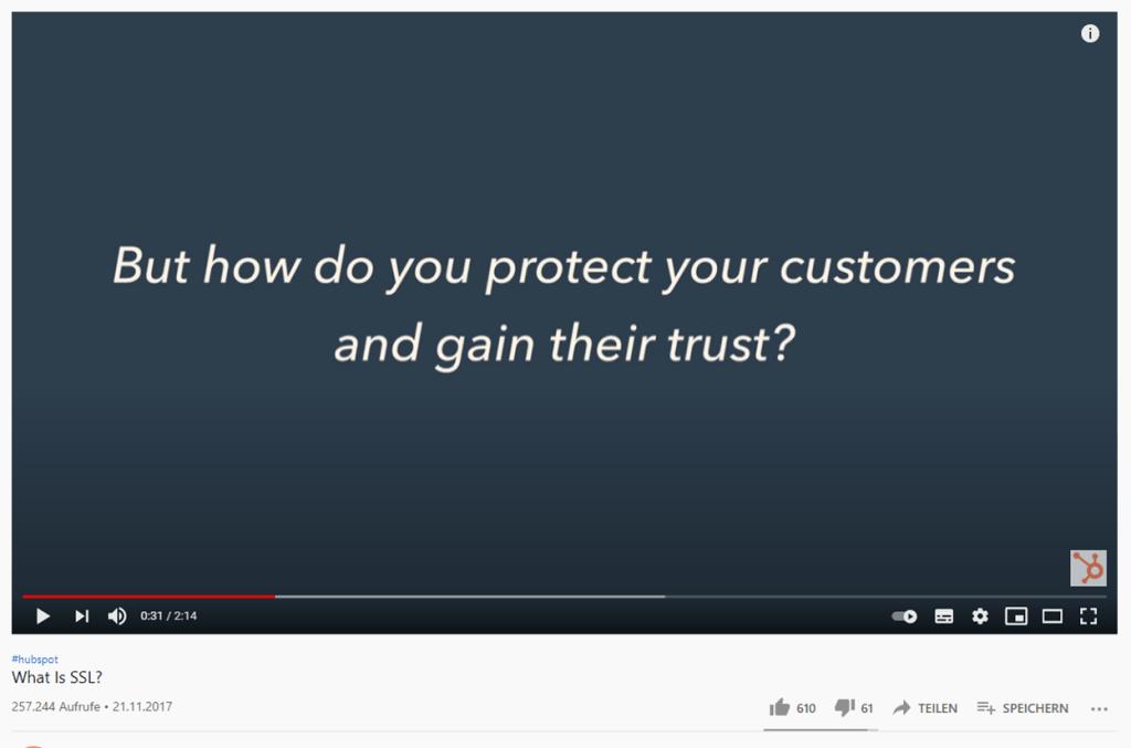 Better Website Security Youtube Screenshot