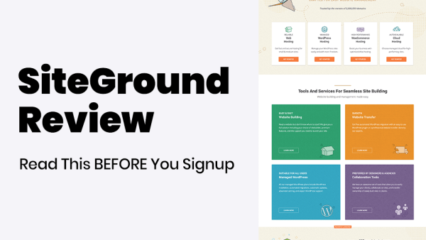 SiteGround Hosting Review Featured Image