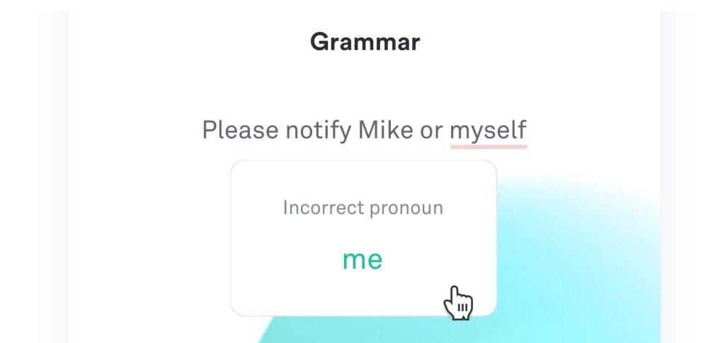 grammar through Grammarly
