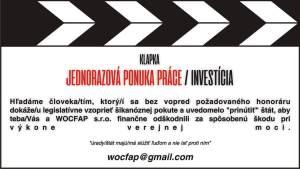 Ľubica Geczikova vs WOCFAP s.r.o. - ponuka práce