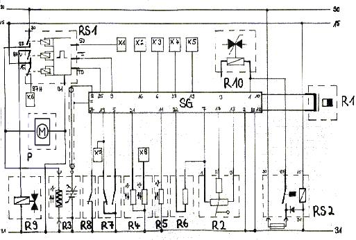 Schaltplan mercedes 190