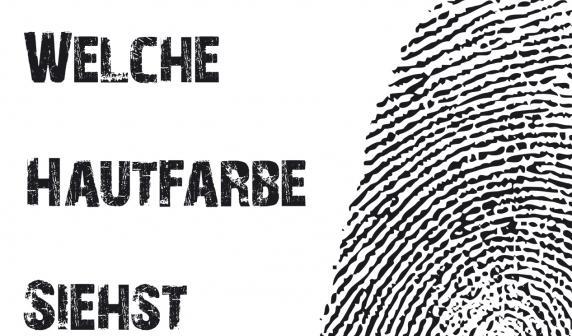 Laut gegen Brauntne  Plakate gegen Diskriminierung