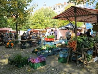Wochenmarkt Dicke Linda Berlin