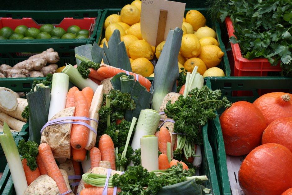 Frische Produkte auf den Wochenmärkten in Saarbrücken kaufen
