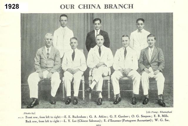 Staff from our China Branch