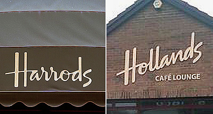 Harrods v Hollands
