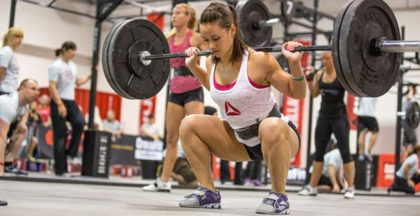 back squat cross-fitness