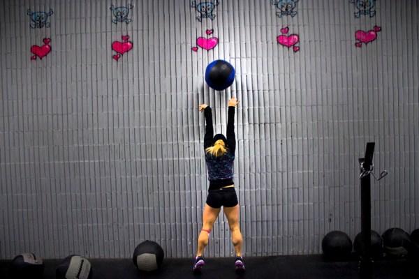 hauteur wall ball crossfit
